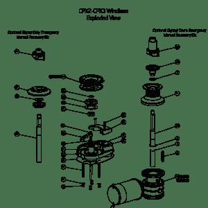 CPX23 Windlass Spares | Lewmar