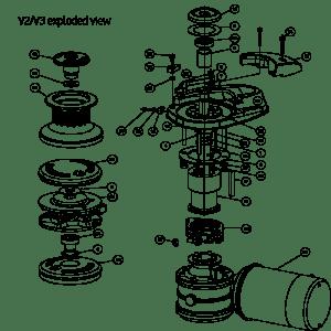 V2V3 Windlass Spares | Lewmar