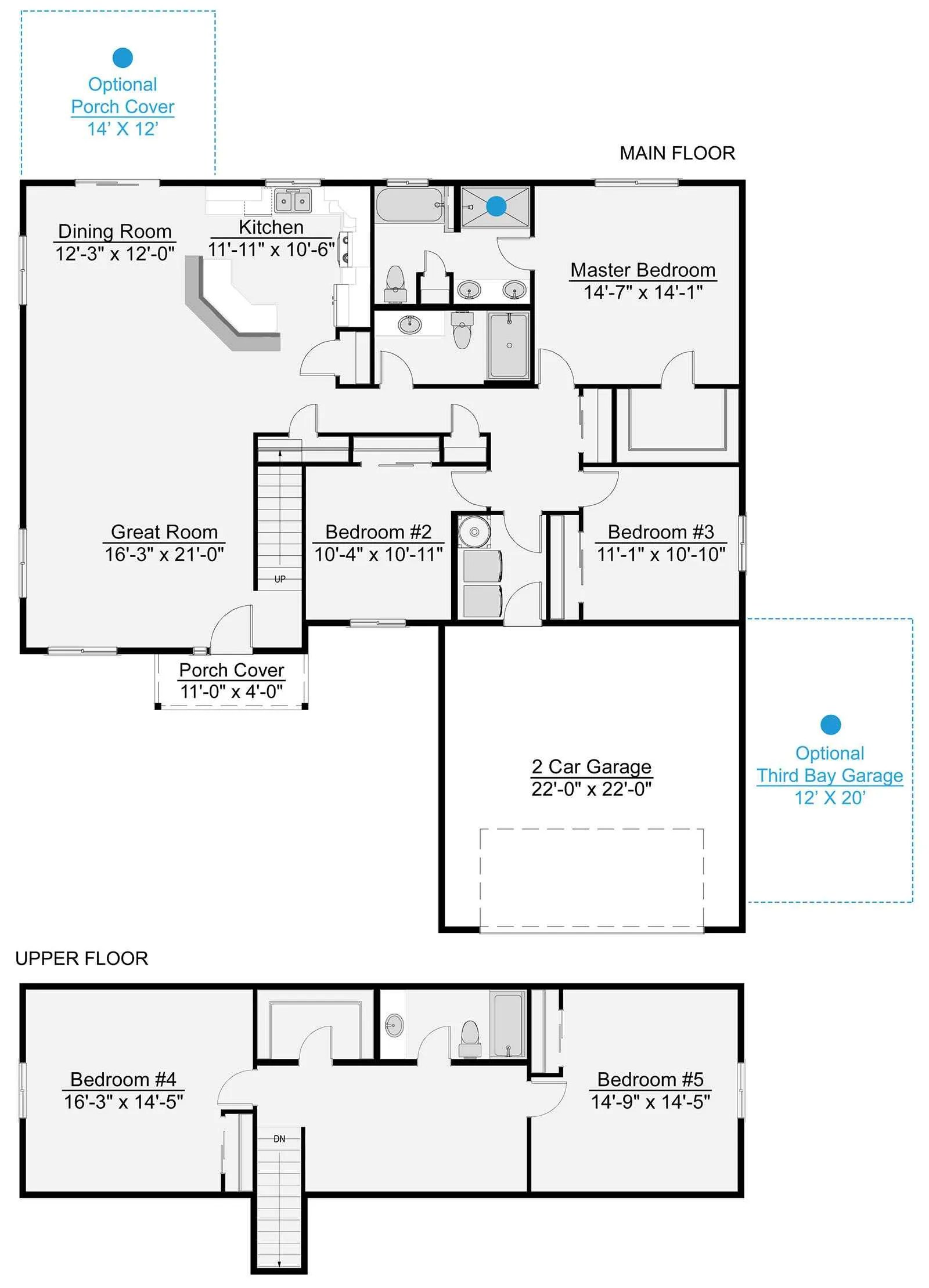 Crescent Floor Plan