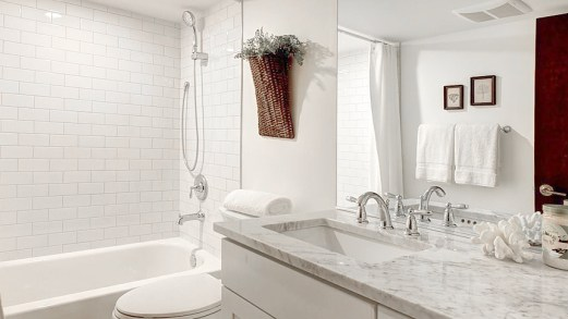 Warm White 4x16 Bathroom