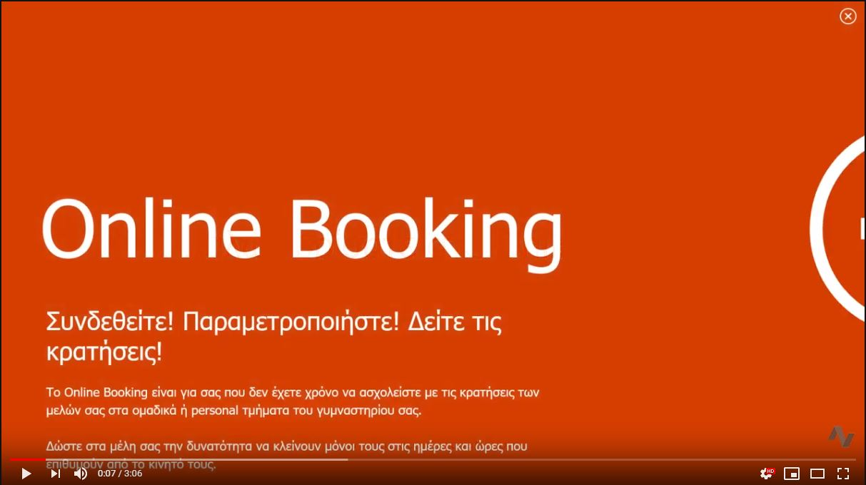 Online Booking/Payments