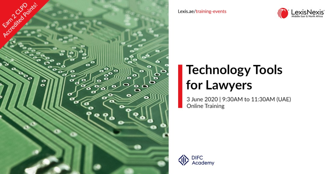 Technology Tools for Lawyers | 3 June 2020, Online Training