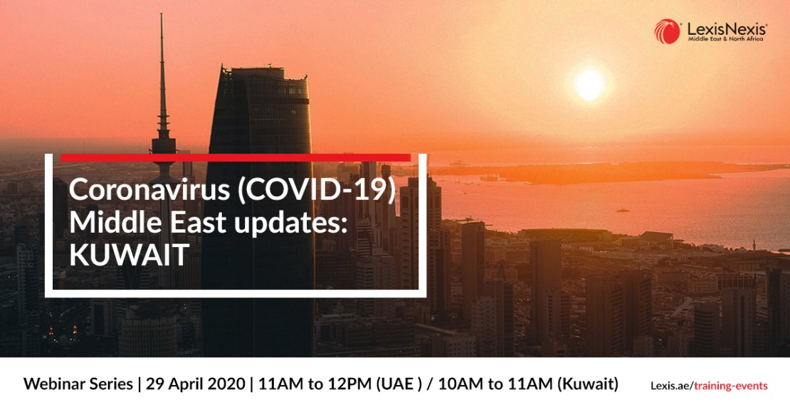 Webinar: Coronavirus (COVID-19) Middle East Updates | UAE | 27 April 2020 **DUPLICATE**