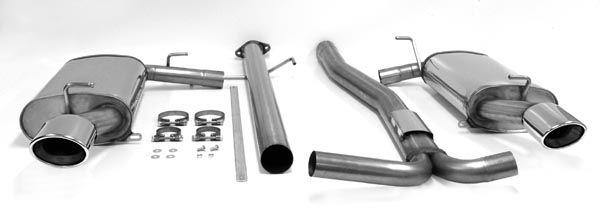 simons duplex stainless steel exhaust