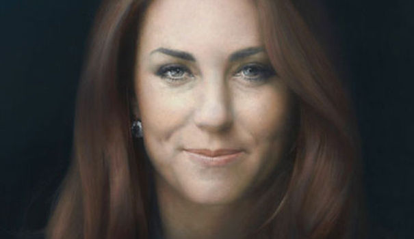 Kate Middleton prend de l'âge sur son premier portrait officiel