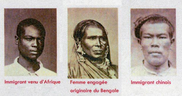 Les travailleurs engagés venaient majoritairement de l'Inde mais également de Chine, de Madagascar et d'Afrique de l'Est.