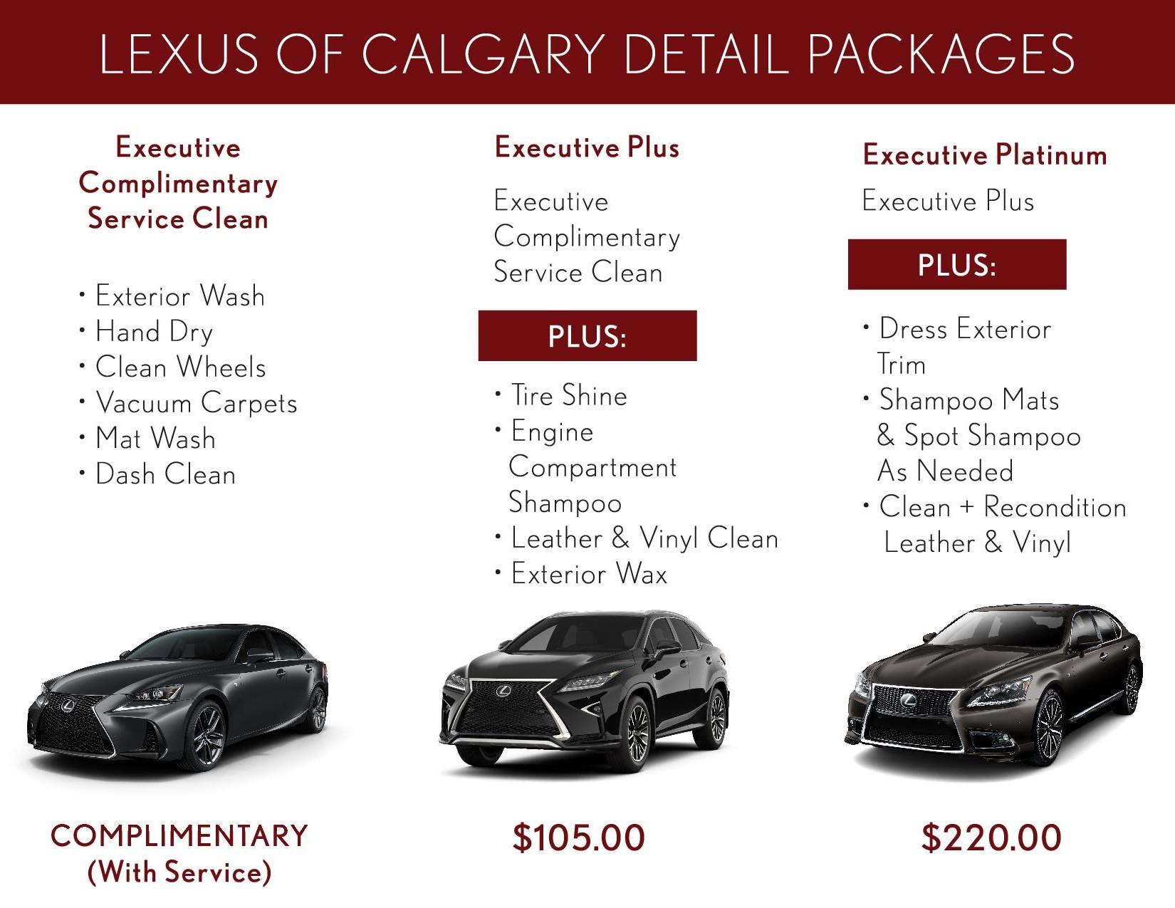 Lexus Car Detailing Service in Calgary