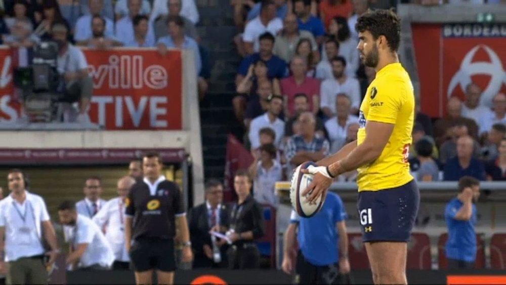 rugby blessure fernandez ouvreur clermont xv de départ 15 ovalie france