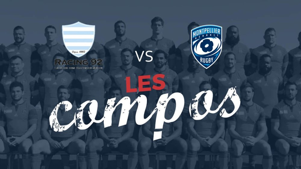 Racing 92 Montpellier résultats classement xv de départ 15 top 14 ovalie rugby