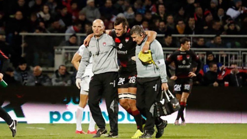 fin de saison bruni blessure ligament croisé rugby france top 14 xv de départ 15 ovalie rugby résultats classement top 14