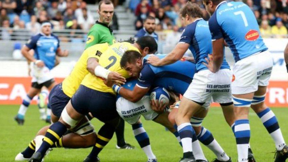 match dingue rugby france top 14 clermont castres xv de départ 15