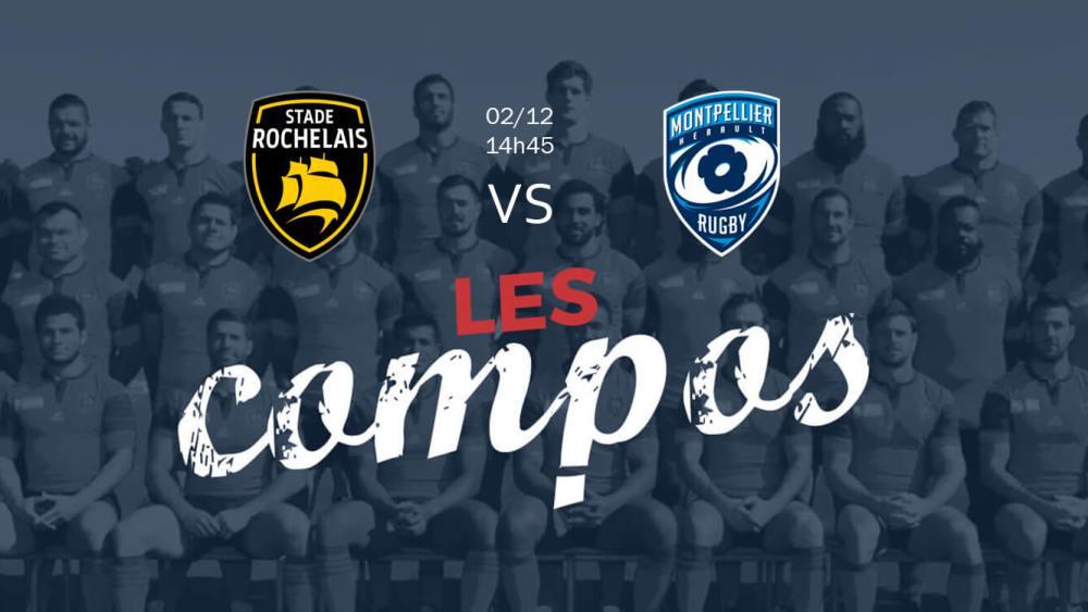 La Rochelle Montpellier résultats classement xv de départ 15 top 14 ovalie rugby
