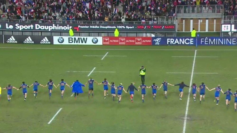 tournoi 6 nations féminin un voie royale pour les bleues rugby france xv de départ 15