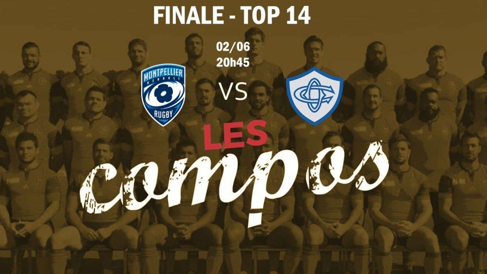 montpellier v castres finale compositions équipes rugby france top 14 xv de départ 15