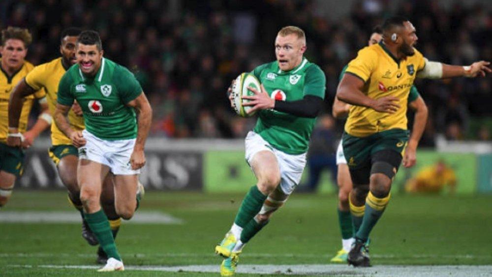 irlande deux ans de plus pour keith earls rugby international xv de départ 15