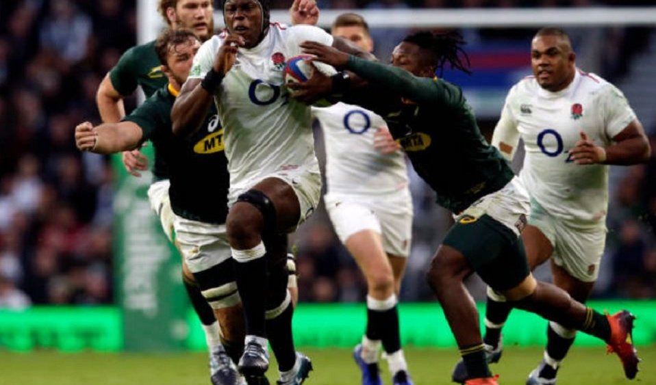 duel musclé entre anglais et sud-africains rugby international xv de départ 15