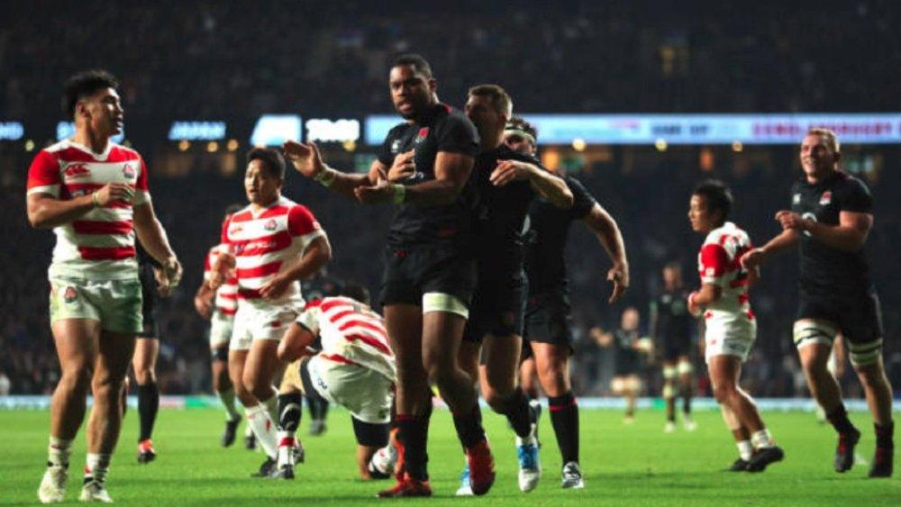 rugby victoire de l'angleterre sur le japon rugby international xv de départ 15