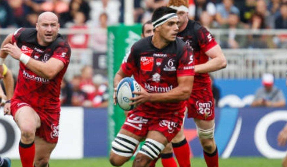 top 14 lyon dylan cretin absent un mois rugby france xv de départ 15