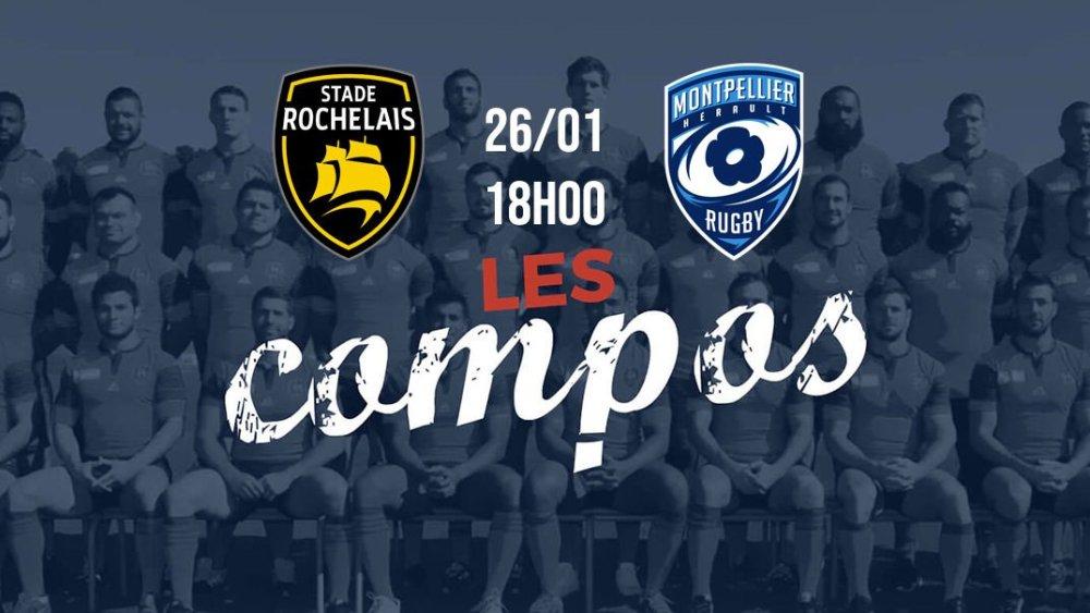 rugby top 14 les formations la rochelle vs montpellier france xv de départ 15