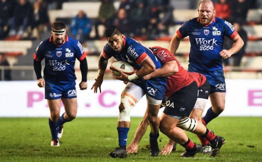 top 14 grenoble alaska taufa prolonge rugby france xv de départ 15