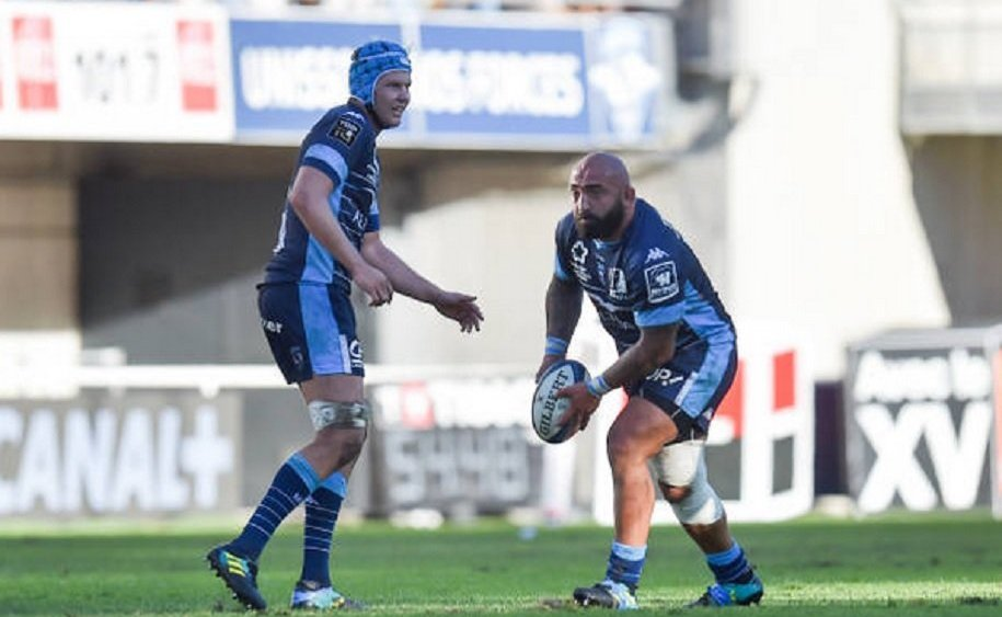 top 14 montpellier nariashvili s'en sort bien rugby france xv de départ 15