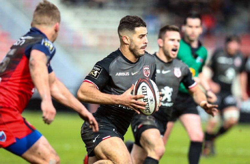 top 14 toulouse prend la tête du top 14 rugby france xv de départ 15