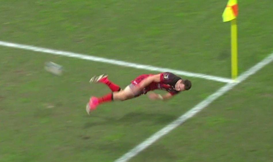 top 14 vidéo le geste exceptionnel de toby arnold rugby france xv de départ 15