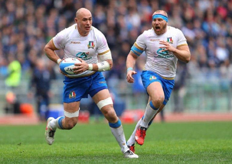 italie sergio parisse titulaire face à l'écosse rugby 6 nations xv de départ 15