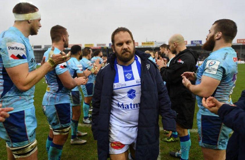 top 14 castres kotze absent six mois rugby france xv de départ 15