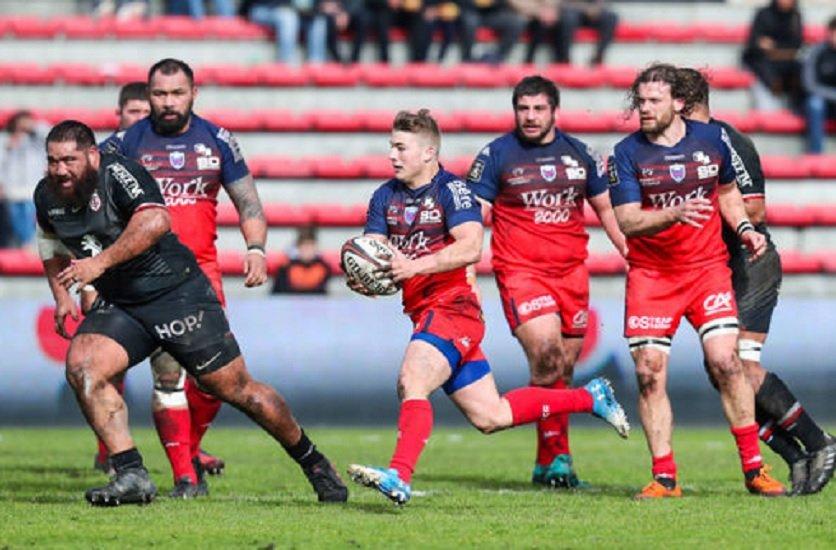 top 14 transfert cordin pour trois saisons au RCT rugby france xv de départ 15