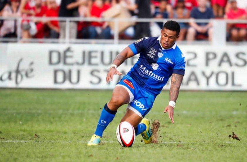 top 14 tansfert david smith file à narbonne rugby france xv de départ 15