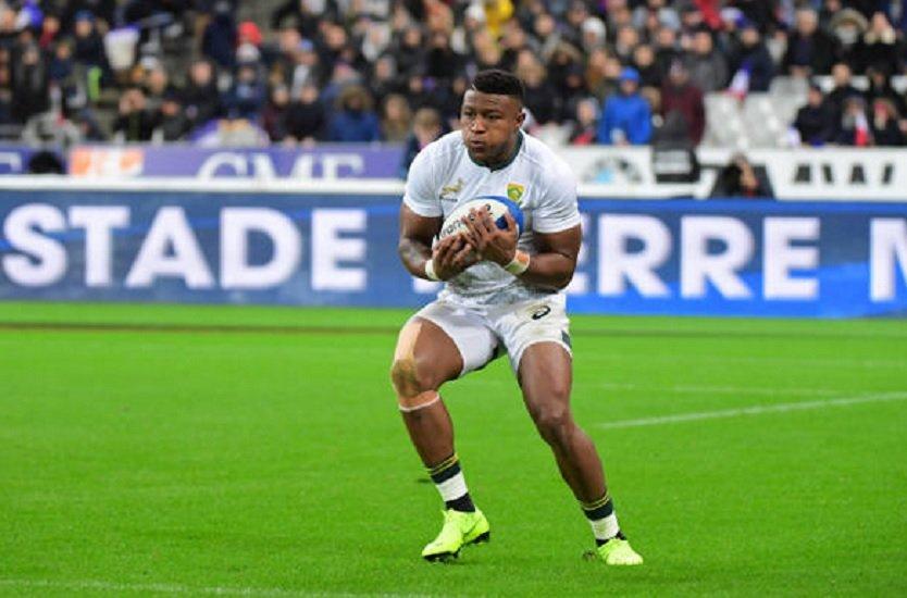 dopage prise de roduits dopants confirmée pour dyantyi rugby international xv de départ 15