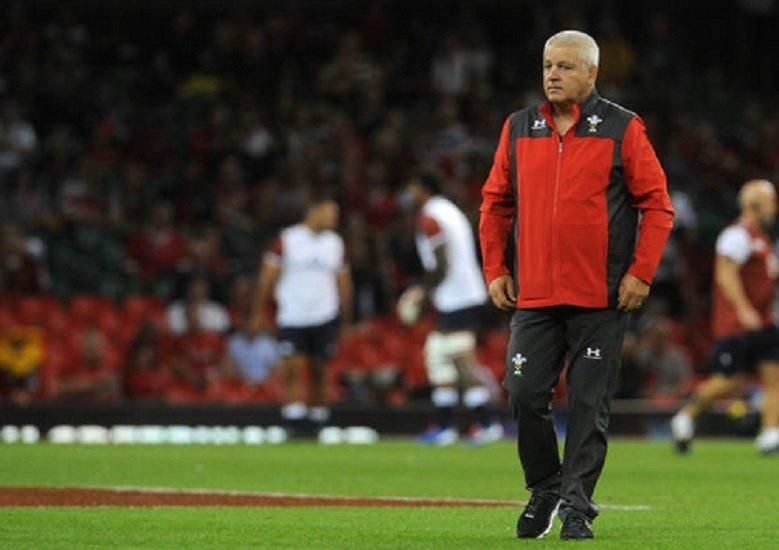 pays de galles warren gatland fait tourner rugby international xv de départ 15