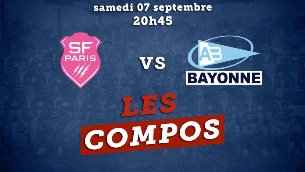 top 14 les compos stade français vs bayonne rugby france xv de départ 15