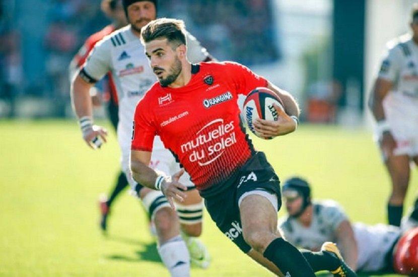 toulon hugo bonneval absent entre 4 et 6 mois rugby france xv de départ 15