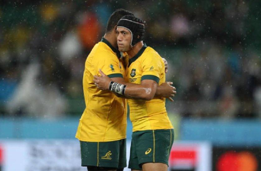 australie hodge de retour lealifano à l'ouverture rugby coupe du monde xv de départ 15