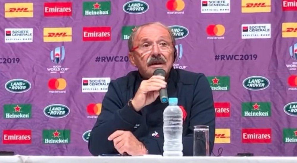brunel si c'était notre joueur il ne pourrait pas jouer rugby coupe du monde xv de départ 15