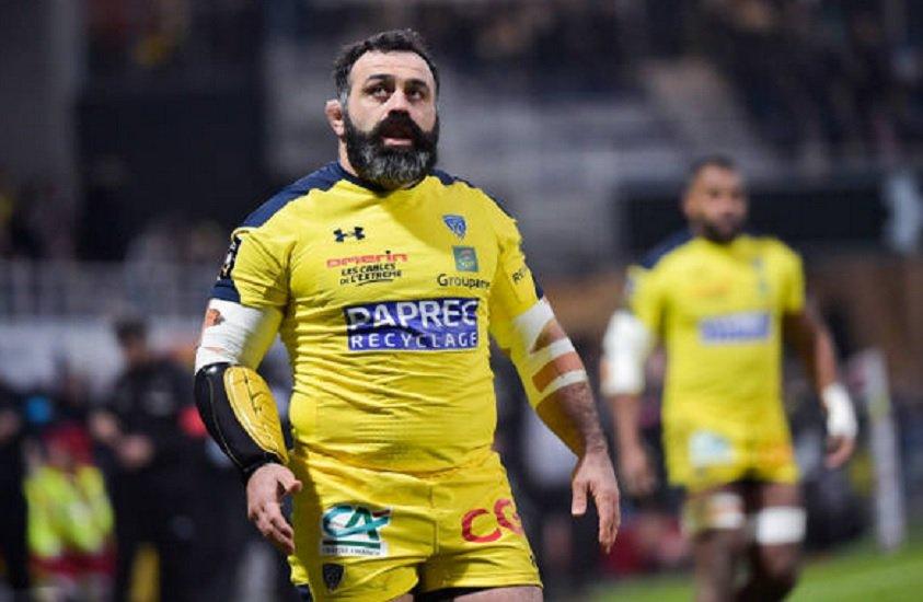 top 14 clermont zirakashvili mettra un terme à sa carrière à l'issue de la saison rugby france xv de départ 15