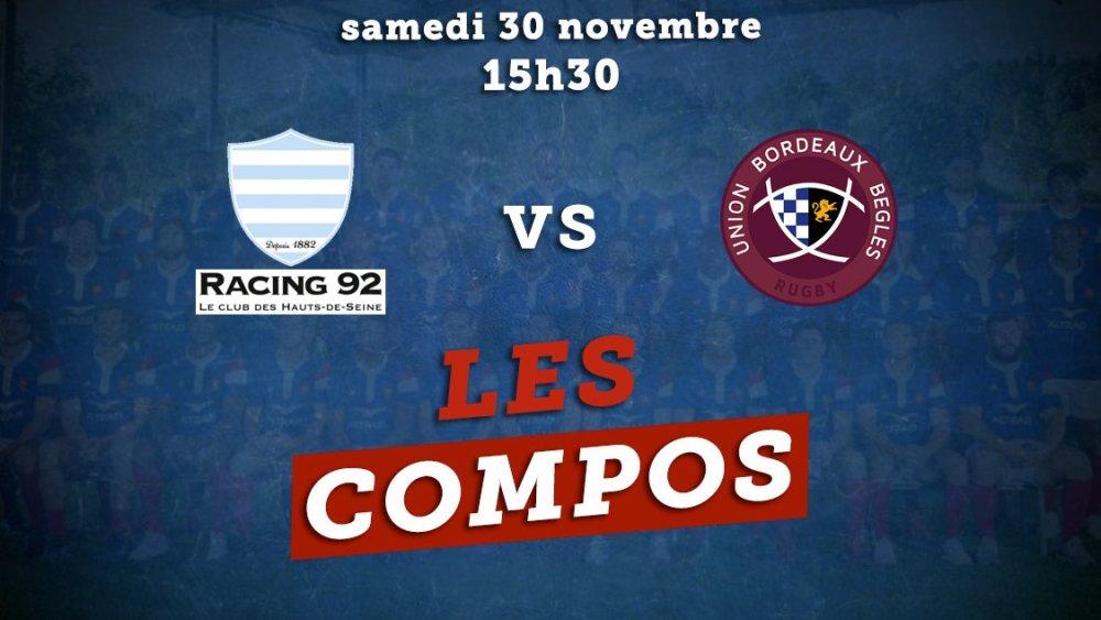 top 14 les compos racing 92 vs bordeaux rugby france xv de départ 15