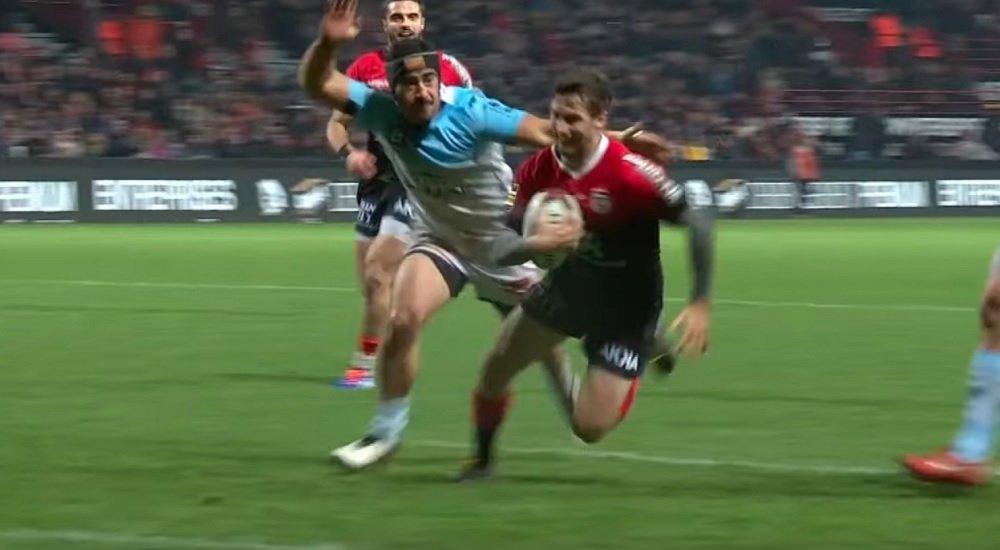 bayonne vidéo l'incoryable sauvetage de hingano rugby france xv de départ 15
