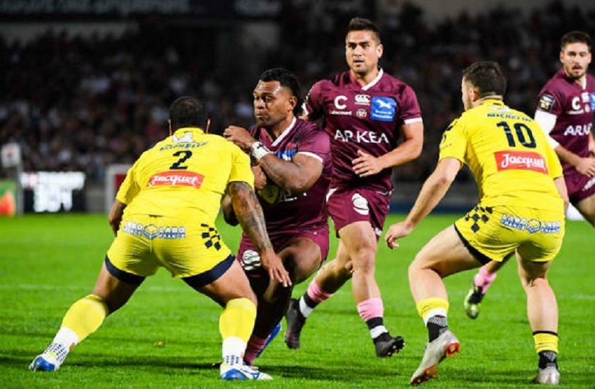 bordeaux tamanivalu absent un mois rugby france xv de déépart 15