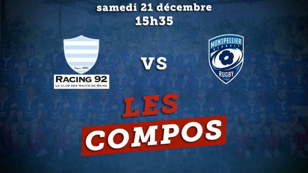 top 14 les compos racing 92 vs montpellier rugby france xv de départ 15