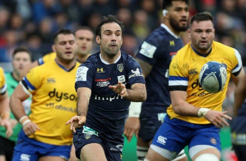 top 14 clermont morgan parra va rester rugby france xv de départ 15