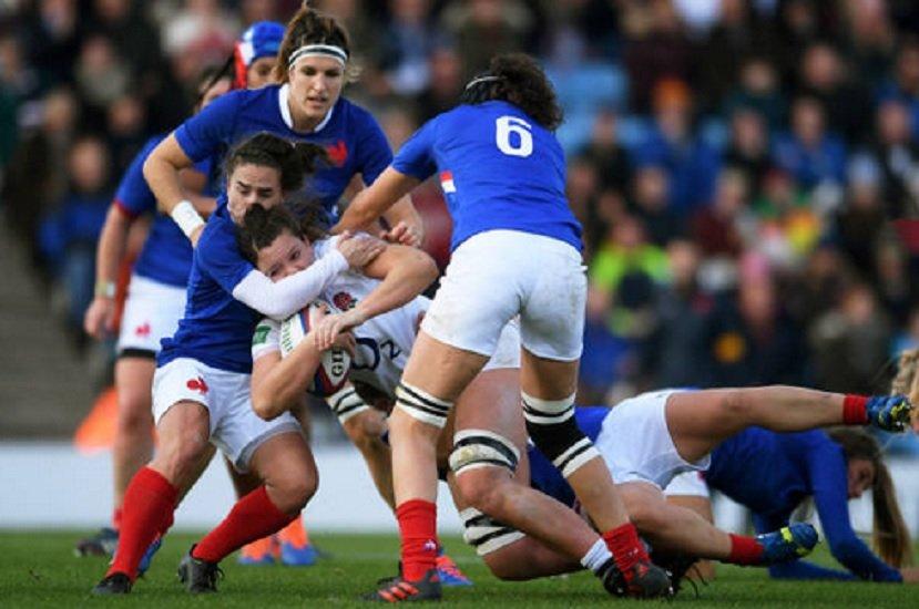 bleues 30 joueuses retenues pour affronter l'angleterre rugby frane xv de départ 15