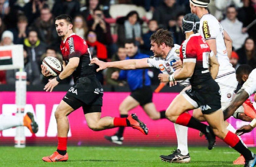 top 14 toulouse vidéo thomas ramos enrhume la défense bordelaise rugby france xv de départ 15