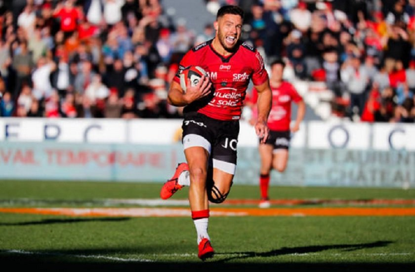 toulon rhys webb ne jouera plus pour l'équipe rugby france xv de départ 15