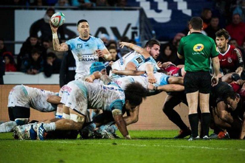bayonne bat toulouse pau retrouve la victoire agen crque à domicile rugby france xv de départ 15