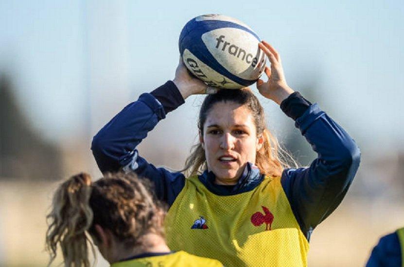 bleues lénaïg corson de retour rugby xv de départ 6 nations