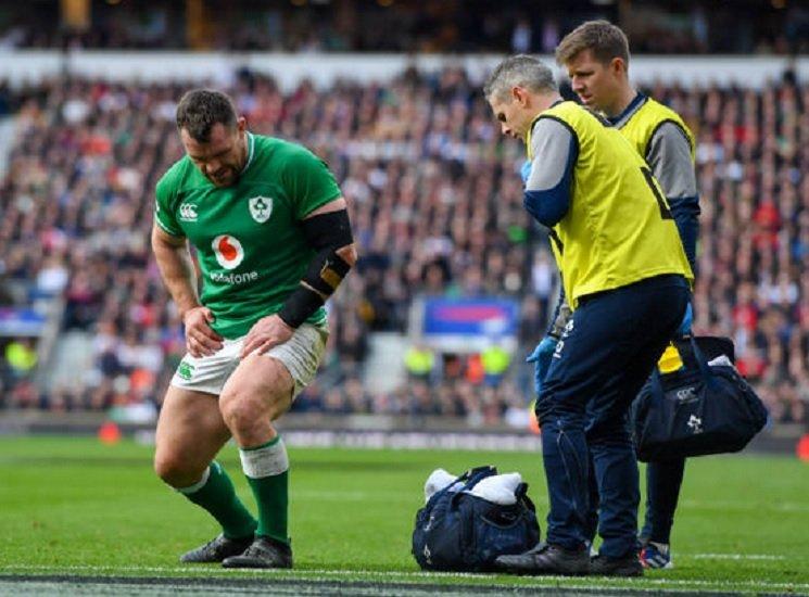 irlande cian healy forfait pour le reste du tournoi rugby 6 nations xv de départ 15