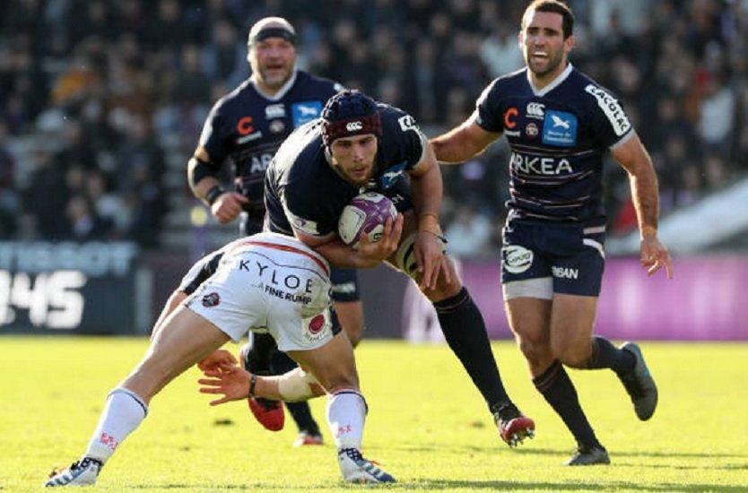 ubb cyril cazeaux absent quatre mois rugby france xv de départ 15